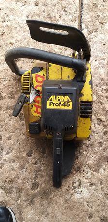 Motoserra Alpina 45 profissional usado
