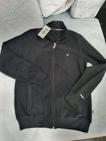 Emporio Armani sweter męski czarny  L