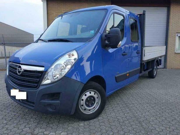Opel Movano, дубль кабіна, Опель