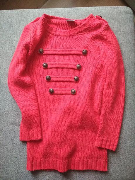 Czerwony sweterek marki Next rozm. M/S