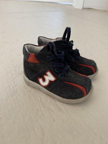 Ботинки кожа для мальчика