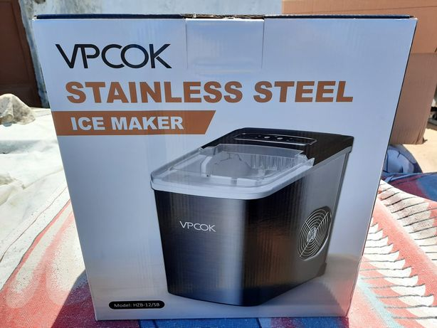 Máquina de gelo em INOX nova e embalada