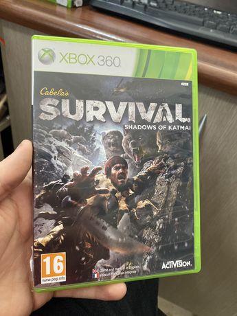 Survival Shadows of Katmai / xbox 360