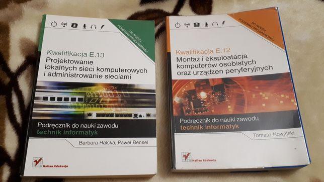 Podręcznik do kwalifikacji informatycznych E12 i E13