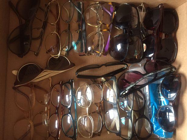 Grande lote de óculos vintage.