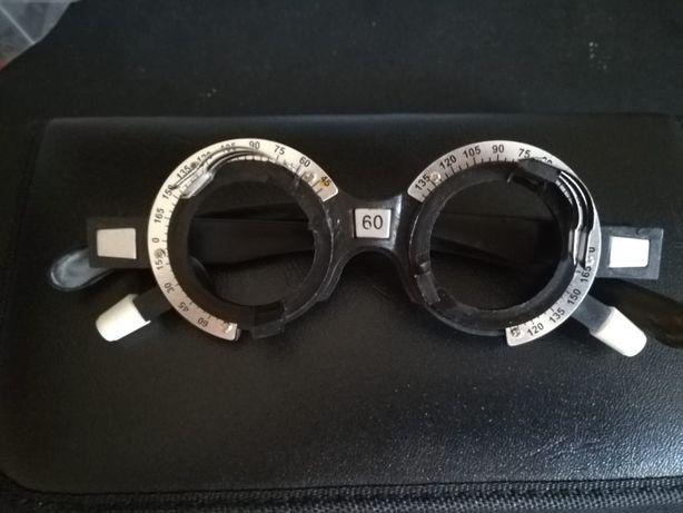Оправа пробная набор пробных линз офтальмолог авторефрактометр