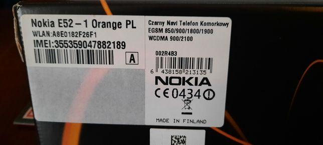Nokia E52 kompletna nie używana