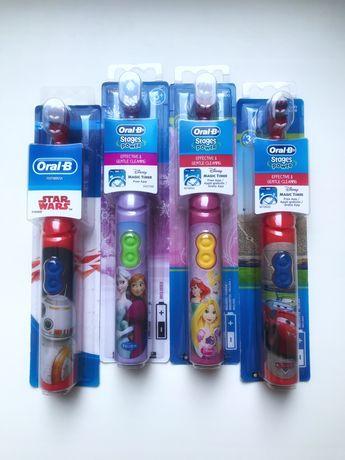 Електрична дитяча зубна щітка Oral-b