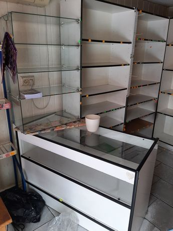 Meble sklepowe używane