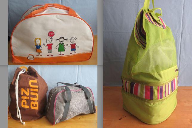 Malas e sacos de viagem de criança, saco de praia, criança, como novos