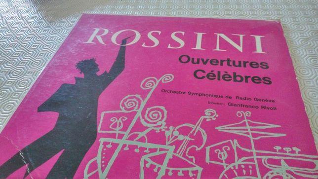 Rossini - Aberturas famosas - Vinil raro (edição francesa)