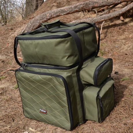 Карповая сумка + чехол для 6ти катушек