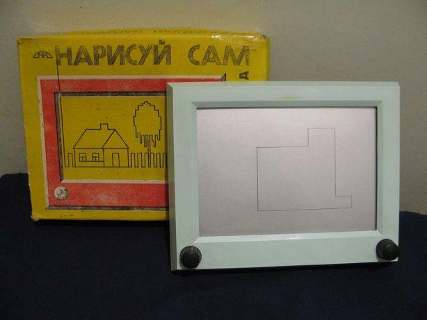 """Планшет для рисования """"Волшебный экран"""" игрушка СССР редкость"""