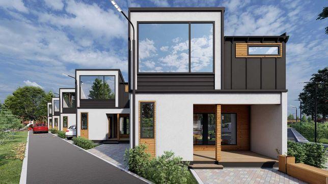 ШАЛЕ NESTER-HOUSE - будинок 126,9 м² у котеджному містечку в с.Світязь