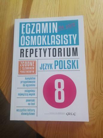 Repetytorium z języka polskiego, egzamin ósmoklasisty,wyd.Greg