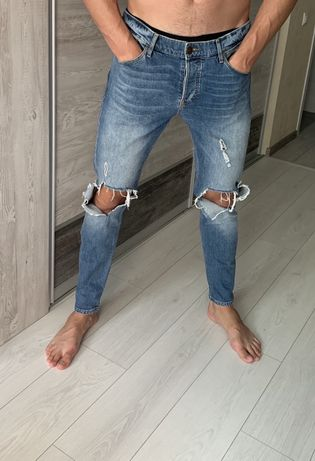 River island мужские джинсы