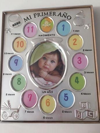 Moldura Primeiro Ano de Nascimento na caixa