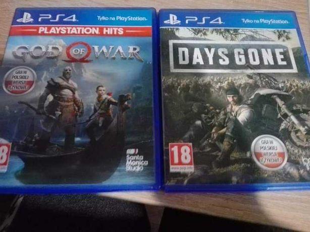Sprzedam Gry Days Gone, God of War