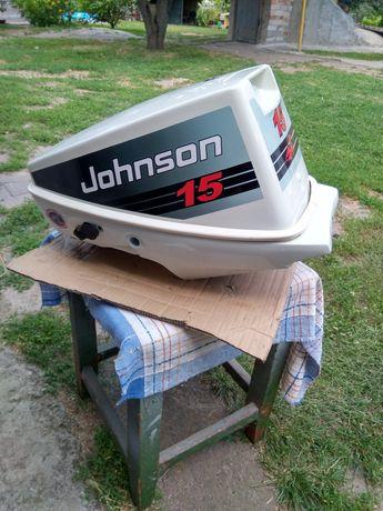 Лодочный мотор Джонсон Эвинруд 9.9-15. Капот и поддон