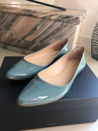 Туфли-лодочки, кожа, размер 36-37 (на узкую ногу) Фирма WITTCHEN
