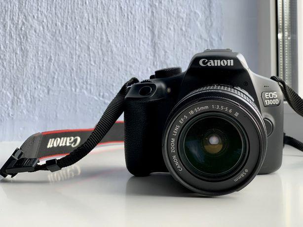Зеркальний фотоаппарат Canon EOS 1300D (18-55mm)