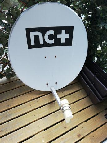 Antena satelitarna plus konwenter twin plus uchwyt