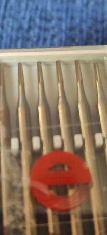 Brocas  fissura 012 caixa de 6 unicades - 5 caixas protese dentaria