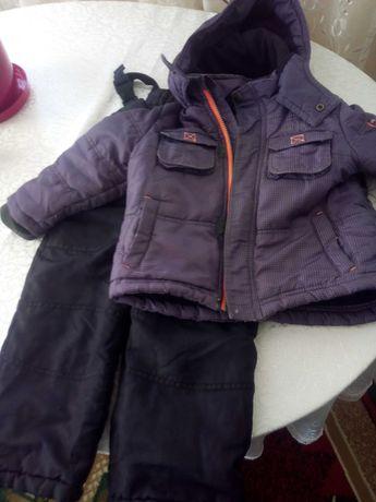 Куртка и комбинезон зимние на 3 годика