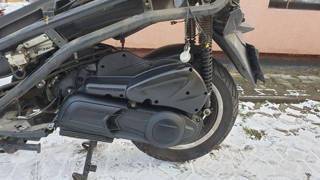 piaggio x10 silnik kompletny osprzęt ,wtrysk stacyjka