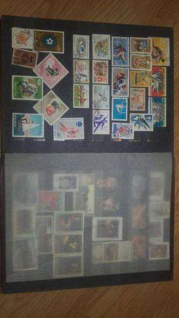 Znaczki pocztowe ponad 670szt różne polecam