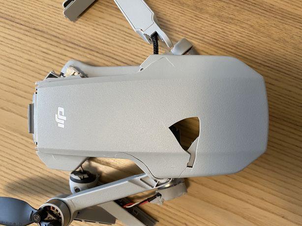 Квадрокоптер дрон Dji mini 2 разбит