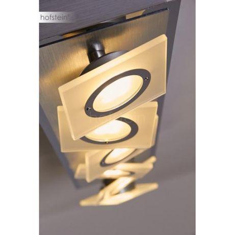 Nowoczesna lampa ROTATOR LED Paul Neuhaus 8028-95 szkło chrom satyna