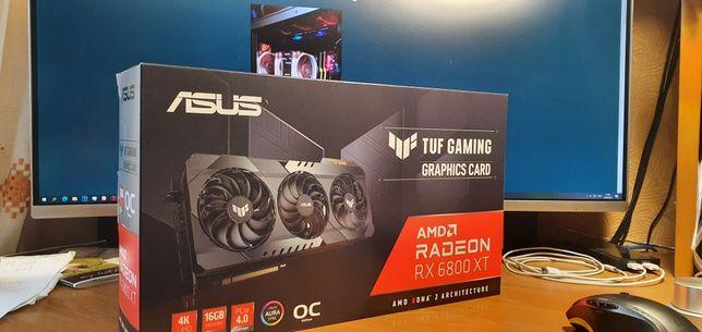 Продам ASUS TUF-RX 6800 XT - O16G-gaming