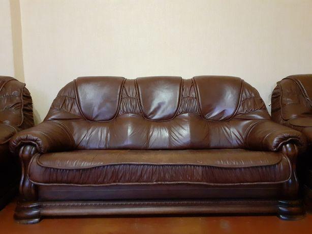Комплект: диван + 2 кресла