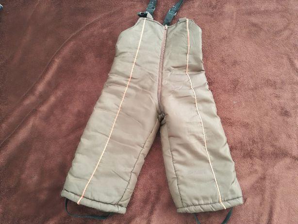 spodnie ocieplane zimowe narciarskie 92/98 cm