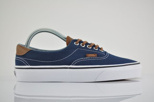 "Vans UA Era 59 (C&L) ""Dress Blue"" 39 40,5 nowe granatowe brąz PURRFECT"