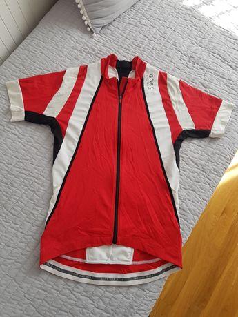 Gore Bike Wear koszulka na rower kolarska M czerwona