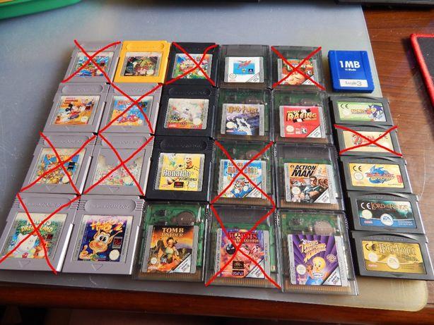 Jogos Game Boy, Color e Advance