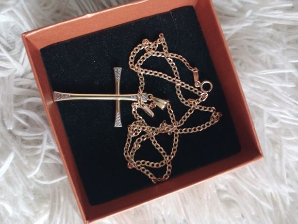 Łańcuszek plus krzyżyk