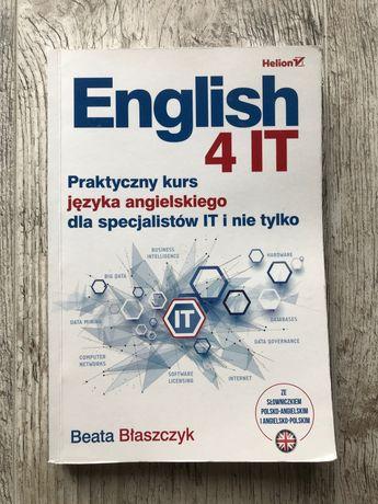 Książka English 4 IT - Beata Błaszczyk