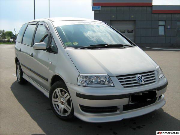 РАЗБОРКА VW SHARAN 2001-2006 1.9TDI Двери, капот, Фары, диски, коробка