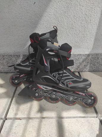 Rollerblade spiritblade Tam.39 + capacete e proteções