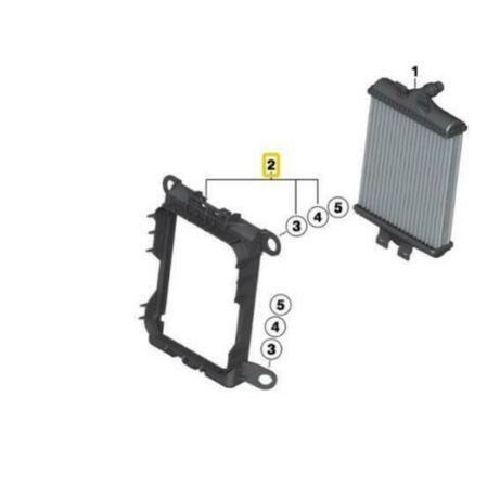 Новая рамка радиатора 17219452275 BMW F20 F31 F30 F34 F32 F33 масляный