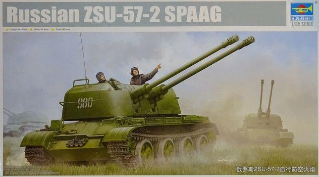 * TRUMPETER - 1:35 * Russian ZSU-57-2 SPAAG