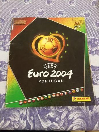 Caderneta Euro 2004