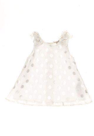 Платье для маленькой принцессы 1-3 мес. для первой фотосессии