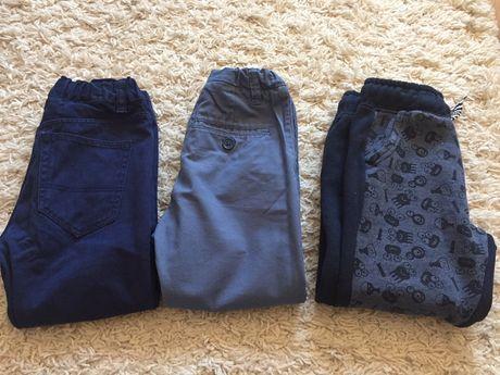 Spodnie chłopiec 104 3 pary