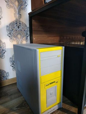 Компьютер 4 ядра, SSD, 8 Гб ОЗУ, GeForce GT430, БП Сooler Master