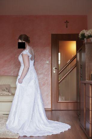 Suknia ślubna Liliane + welon