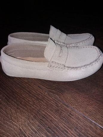 Buty chłopięce mokasyny ZARA r.33